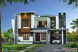 100 Modern Contemporary House Design Plans In Kerala Fresh Flat Roof