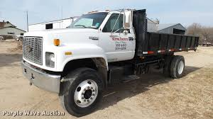 100 Kodiak Trucks 1996 Chevrolet Dump Truck Item AT9597 SOLD March