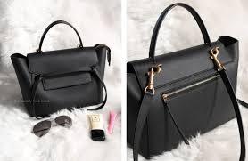 what u0027s in my bag céline mini belt bag review the beauty look book