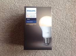 one white philips hue led light bulb for sale in poole dorset