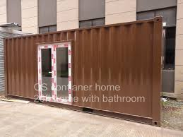 100 Shipping Container Guest House Hot Item 20FT Home With Individual Bathroom Portable Living Home Vocation Modular
