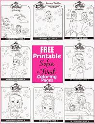 In Celebration Of The Release Disneys Sofia First Floating Palace To DVD We Have Some Fun Free Printable Coloring Pages And