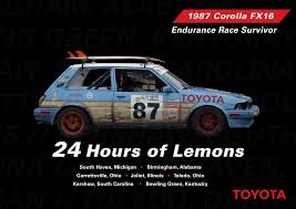 100 Craigslist Bowling Green Ky Cars And Trucks Toyota Gets On Track For 24 Hours Of LeMons Toyota USA