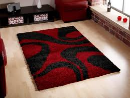 rug red and black rugs nbacanotte s rugs ideas