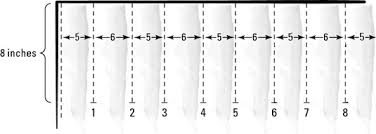 Material For Curtains Calculator by How To Make Pleated Curtains Dummies
