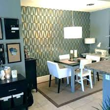 Dining Room Accent Walls Wallpaper Ideas Feature Wall Idea Charming Home Decor For Small