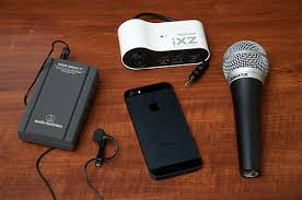External Microphones for iPhone 5s 5 4S iPad and iPod Touch