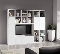 legno design wohnwand tv schrank wohnzimmer weiß esche 25