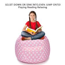 CALA LIFE Stuffed Animal Storage Bean Bag Chair Extra Large Pink Beanbag  Soft Cotton Canvas Organizer Box For Kids - 38'' (Pink Dot) 10 Best Bean Bag Chairs Of 2019 Versatile Seating Arrangement Giant Huge Chair Extra Large 2019s And Where To Find Them Top 2018 Review Fniture Reviews Diy Sew A Kids In 30 Minutes Project Nursery Gaming Recliner Inoutdoor 17 Consider For Your Living The Rave Full Corduroy Best Bean Bag Chair You Can Buy Business Insider