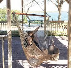 Brazilian Padded Hammock Chair by Amazon Com Mayan Hammock Chair Large Cotton Hanging Chair