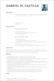 Military To Civilian Resume Examples Example Police Samples Database Template