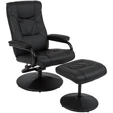 Walmart Swivel Chair Hunting by Best Choice Products Leather Swivel Recliner Chair W Ottoman