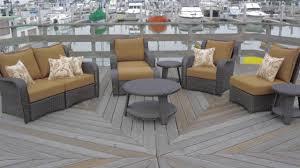 Sirio Patio Furniture Soho by Aurora 9 Piece Deep Seating Set By Sirio U0026raquo Patio Lawn