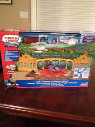 Trackmaster Tidmouth Sheds Playset by Find More R C Trackmaster Thomas U0026 Friends Thomas At Tidmouth