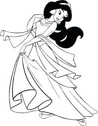 Free Jasmine Coloring Pages Color To Print Printable Pdf