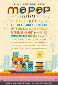Festival Posters 2016 Mo Pop