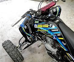 kit deco 250 raptor kit déco pour yamaha raptor par nikkodesign kit déco adhésif