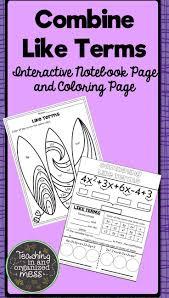Cpm Technology Algebra Tiles by Best 25 Combining Like Terms Ideas Only On Pinterest Algebraic