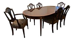 100 6 Chairs For Dining Room Stickley Classic Monroe Place Table Chairish