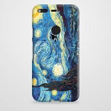 Van Gogh Harry Potter Paintings Starry Night Google Pixel Case