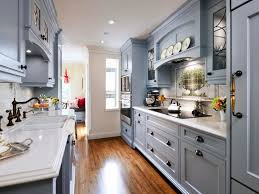 Narrow Galley Kitchen Ideas by Tiny Galley Kitchen Remodel Ideascolor Option For Small Galley