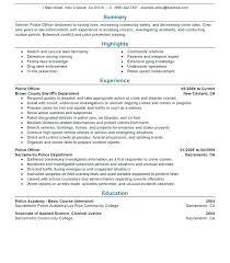 Law Enforcement Promotion Cover Letter Resume Entry Level Promotional Supervisor Object