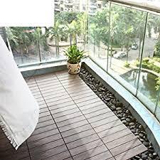 Outdoor Flooring Balcony Wood Diy Garden Floor Pvc Terrace Anticorrosive Plank