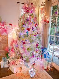 White Christmas Trees Walmart by Retro Silver Christmas Tree Christmas Lights Decoration