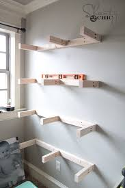Reclaimed Wood Shelf Diy by Best 25 Diy Wood Shelves Ideas On Pinterest Reclaimed Wood
