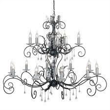 Clip Art Modernlampsinfoclip Gothic Chandelier Drawing Black S Crystal Wrought Iron U Mini