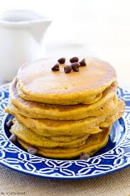Pumpkin Pancakes With Gluten Free Bisquick by Pumpkin Chocolate Chip Pancakes A Latte Food