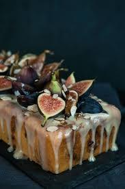 Fig Almond Tea Cake W Coconut Honey Glaze