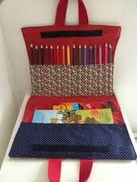 Coloring Book Crayon Bag
