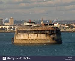 100 Spitbank Fort In The Solent Just Off Portsmouth Hampshire England UK
