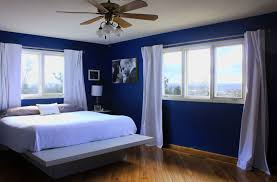 Royal Blue And White Bedroom Ideas Design