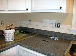backsplash subway backsplash tile ideas for white kitchen