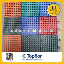 outdoor sports pvc interlocking plastic floor tiles buy