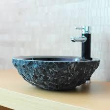 vasque en ronde wasa marbre noir indoor by