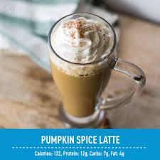Iced Pumpkin Spice Latte Nutrition Facts by 7 Healthy Pumpkin Spice Recipes Waffles Lattes U0026 More Idealshape
