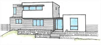 100 Dream House Architecture Modern Drawing At GetDrawingscom Free For Personal
