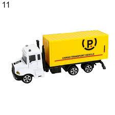 Mini 1:64 Aerial Ladder Fire Truck Simulation Car Model Children ...