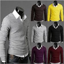 men u0027s collar slim fit jumpers sweater vest waistcoat sale