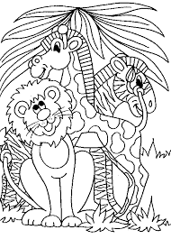 Coloring Pages Popular Printable Jungle Animal