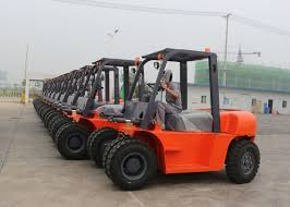 100 Industrial Lift Truck Heavy Duty Forklift Material Handling Equipment ISO