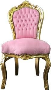 barock esszimmer stuhl rosa gold