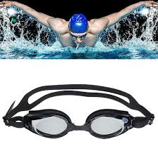 Antifog Prescription Swimming Goggles Uv Proof Nearsighted Tinted