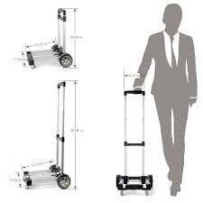 100 Hand Truck Vs Dolly Greanos Aluminum Folding Light Weight Foldable Cart