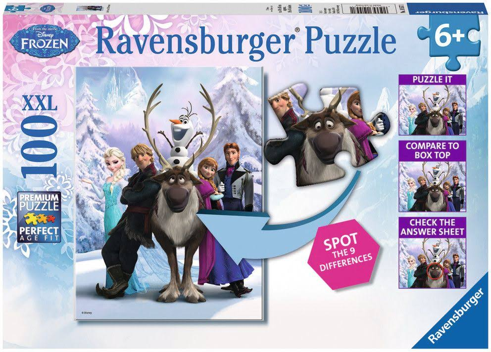 Ravensburger Disney Frozen Difference Puzzle - 100 Pieces