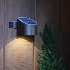 20 led bright solar powered motion sensor light outdoor garden for
