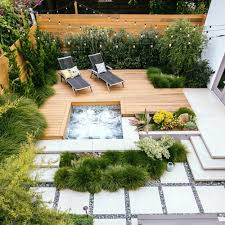 Deck Designs For Small Backyard — SMITH Design : Closed Small Yard ... 50 Cozy Small Backyard Seating Area Ideas Derapatiocom No Grass Narrow Pool With Hot Tub Firepit Designs For Yards Youtube Small Backyard Kid Play Ideas Exciting For Kids Backyards Pacific Paradise Pools How To Make A Space Look Bigger 20 Spaces We Love Bob Vila Landscape Design Hgtv Urban Pnic 8 Entertaing Tips And 2017 The Art Of Landscaping Yard